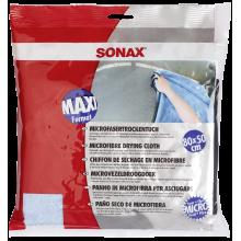 SONAX Ręcznik z mikrofibry 80x50 cm do osuszania lakieru samochodowego