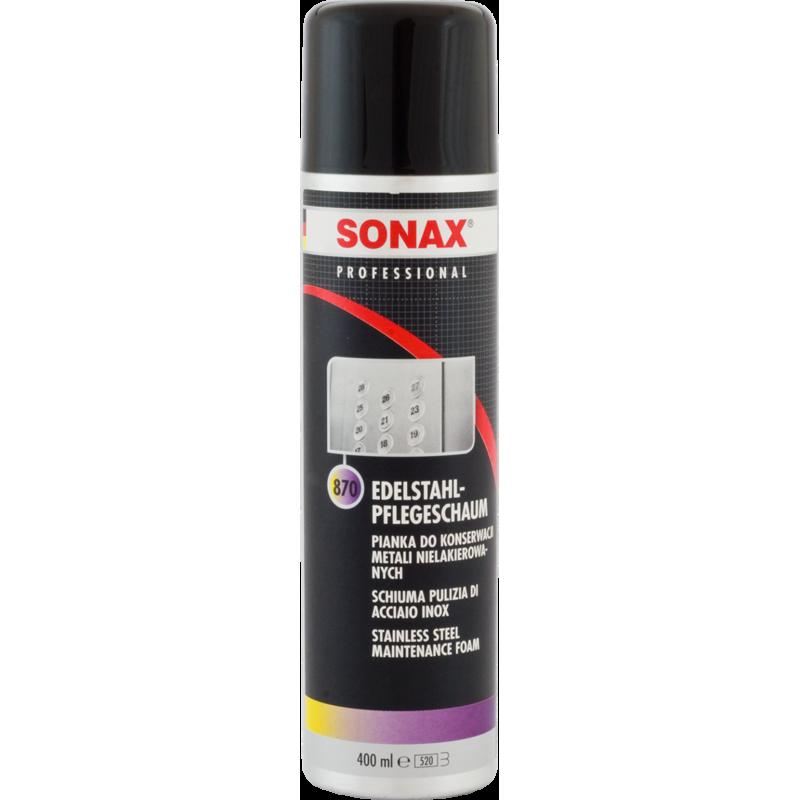SONAX Pianka do konserwacji metali nielakierowanych 400 ml