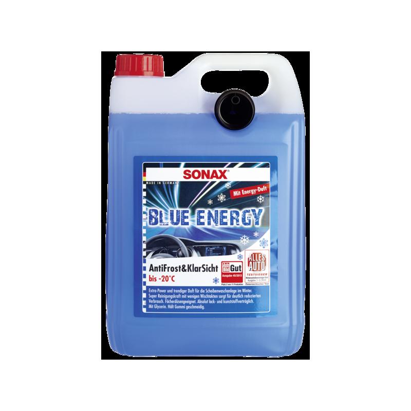 SONAX Blue Energy Zimowy płyn do spryskiwaczy 5l