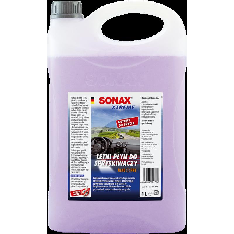 SONAX Xtreme Letni płyn do spryskiwaczy Nano Pro 4l