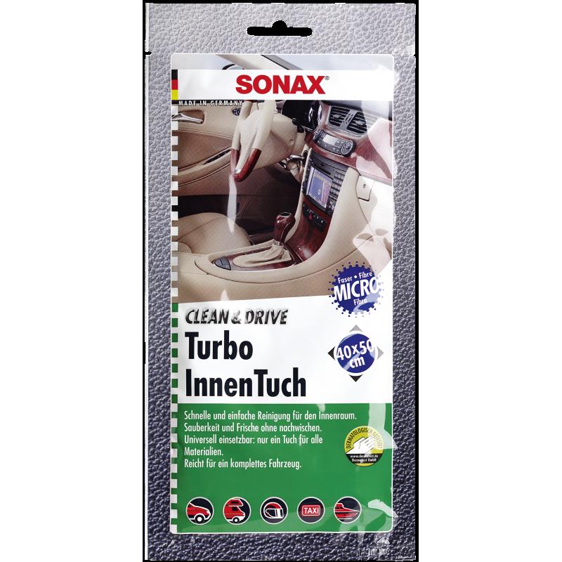SONAX Ściereczka Turbo do czyszczenia wnętrza samochodu 40x50 cm