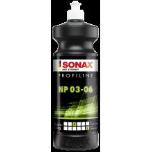 SONAX Profiline Nano Polish 03/06 - Pasta polerska wykończeniowa 1l do lakieru samochodowego