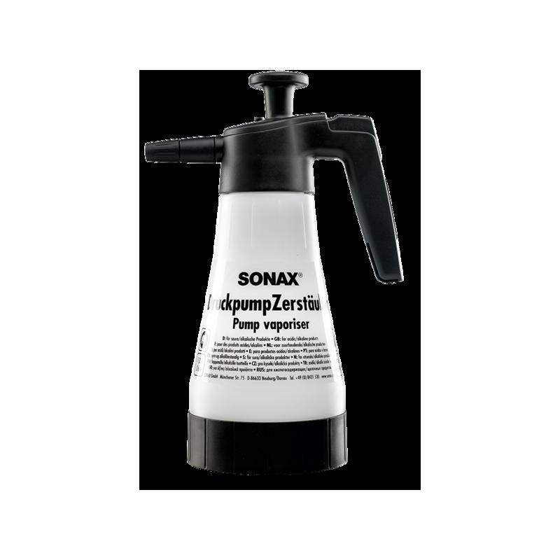 SONAX Pojemnik z pompką tłoczącą poj. 1,25 l. - do produktów kwaśnych lub alkalicznych