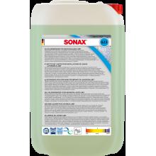 SONAX Płyn do mycia felg w myjniach automatycznych 25l - Do usuwania uporczywych zabrudzeń