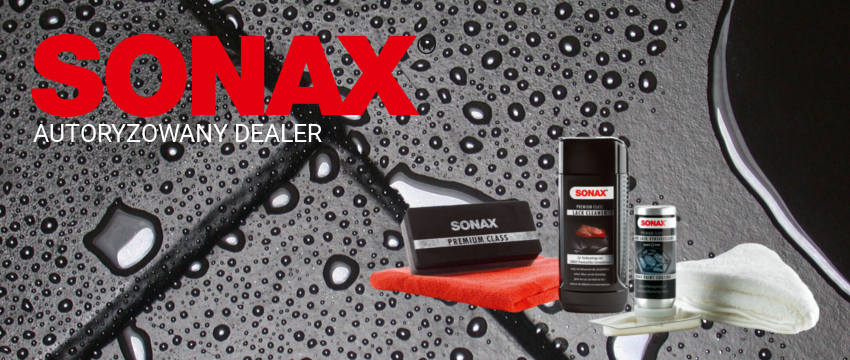 Kosmetyki samochodowe, chemia samochodowa - Sonax autoryzowany dealer Katowice